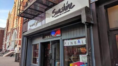 Práčovňa, Pinball, New York