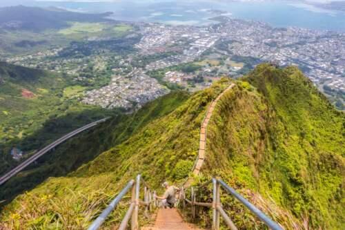 výhľad na Hawai
