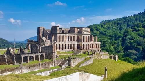 Palác na Haiti