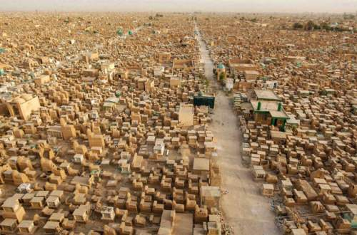 Najväčší cintorín na svete