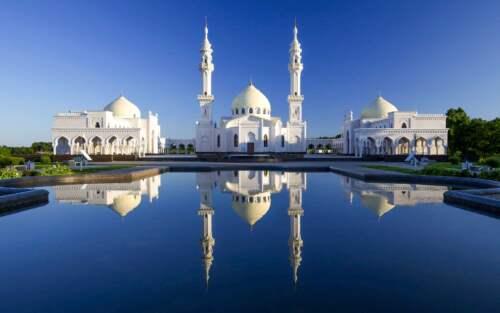 White Mosque, Tatarstan, Rusko