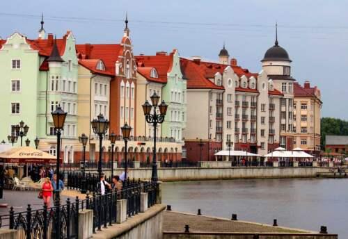 Kaliningrad, Európa