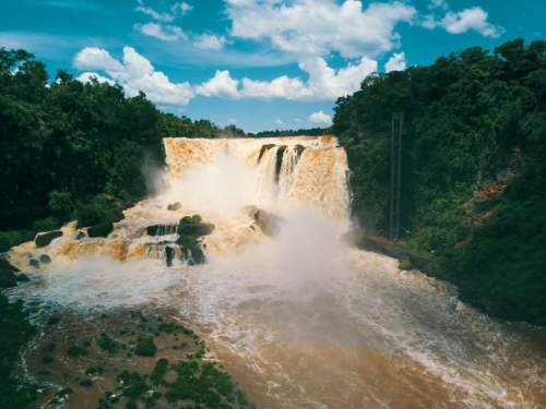 Saltos del Monday, Paraguay