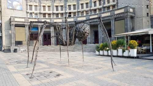 Socha pavúka, Jerevan