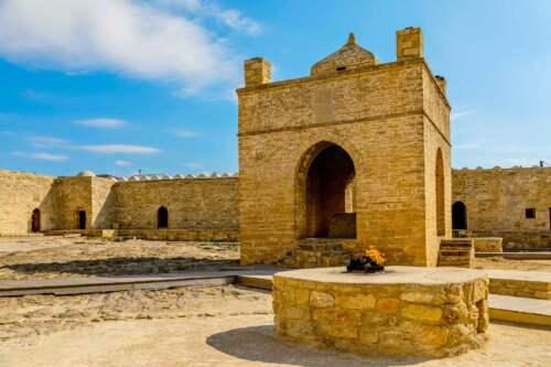 Atashgah Zoroastrian Fire Temple
