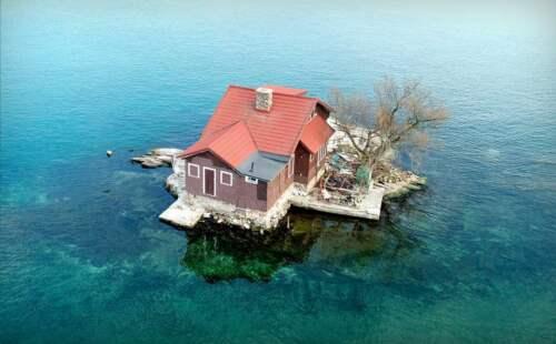 malý ostrov, New York