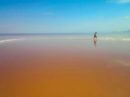 Lake Urmia, Irán