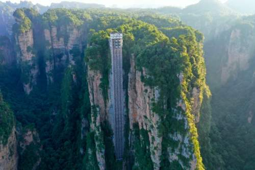 Elevator Bailong, China