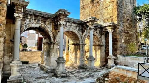 Hadrian Castle Gate