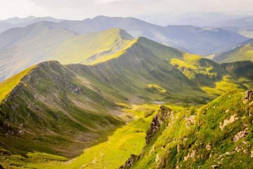 Karpaty v Rumunsku