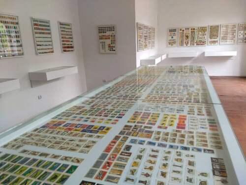 Múzeum etikiet Matchbox