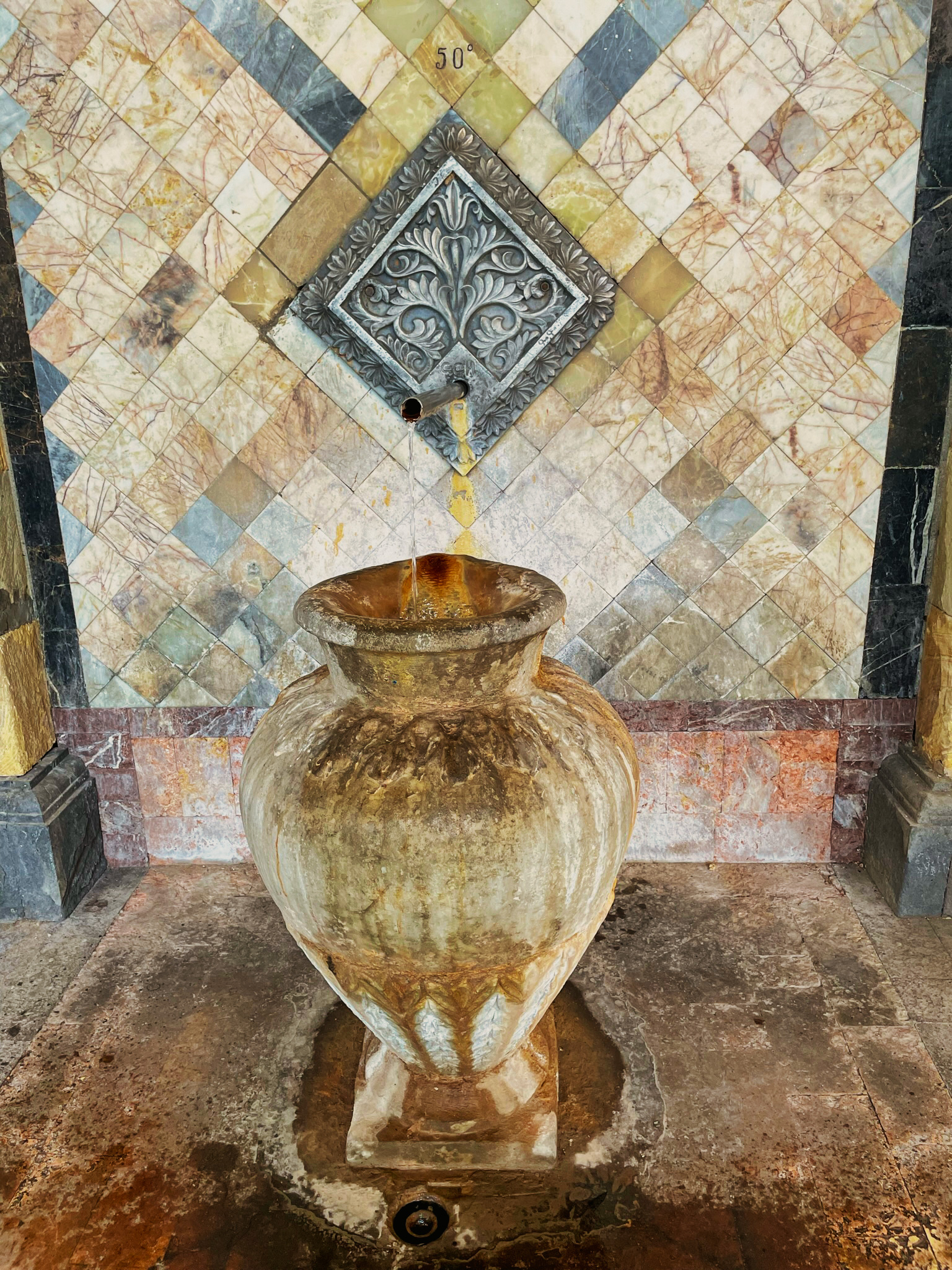 Mineral water gallery, Jermuk