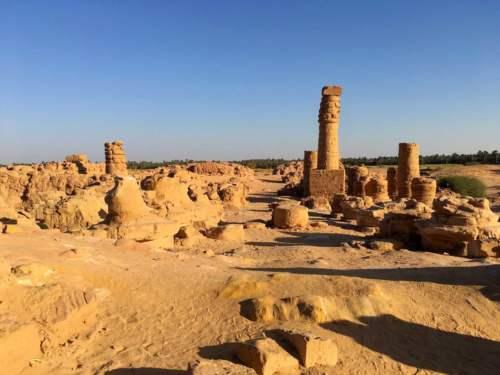 Ostrov Saï, Sudán