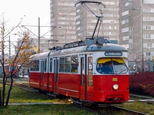 Električka v Sarajeve