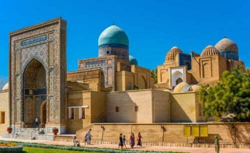 Nekropola, Samarkand