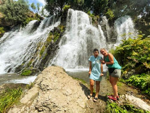 Shaki Waterfall, Armenia