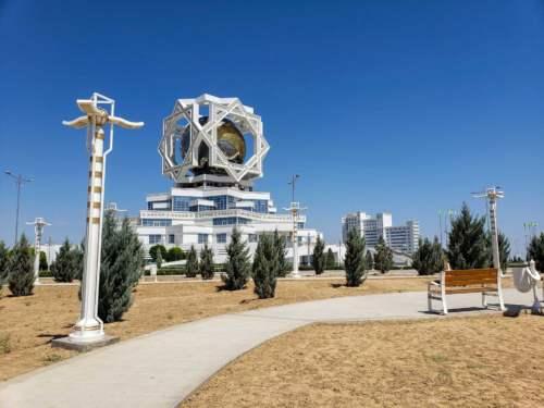 Svadobný palác, Turkmenistan